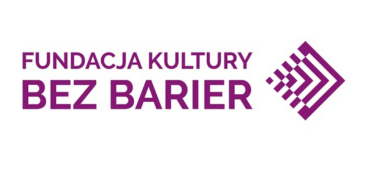 Logo Fundacji Kultury bez Barier.