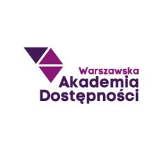 Warszawska Akademia Dostępności – logo