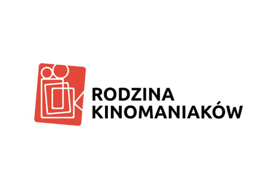 Obraz. Logotyp Rodzina Kinomaniaków.